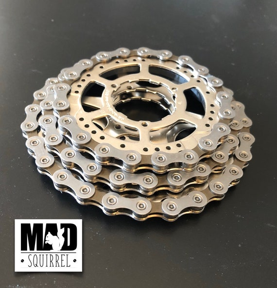 3 Stacking Bicycle Cassette Chain and Sprocket Drinks Coasters