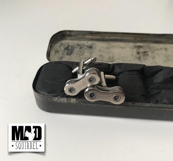 Beautiful Chemico Puncture Repair Tin with SRAM Cufflinks