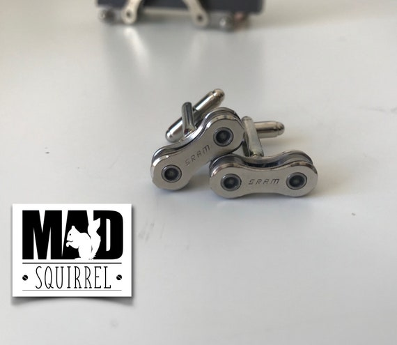 SRAM Bicycle Chain Link Cufflinks