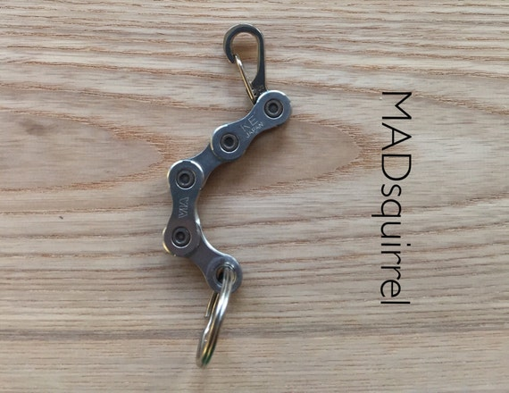Shimano Bicycle Chain Keyring Light Edition, with Spring Hook