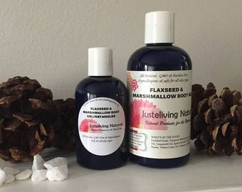 Flaxseed & Marshmallow Root Gel/Detangler/Leave-in Conditioner