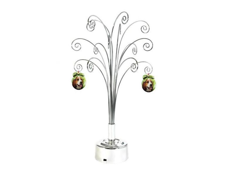 Ornament Display Tree Stand Metal Rotating Christmas 1675inch Etsy