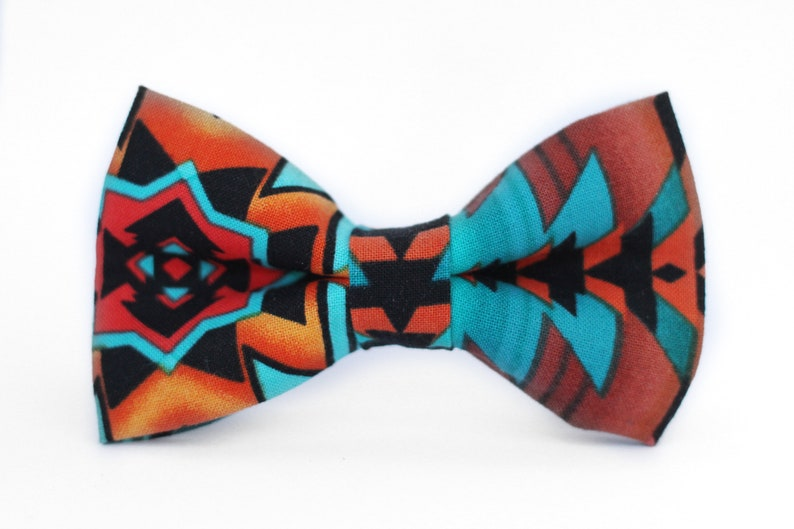 Bow Tie for Men Bow Tie for Dog Boys Bow Tie Bow Tie for Boys Mens Bow Tie Formal Bow Tie Southwest Bow Tie Toddler Bow Tie