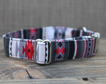 Southwest Collar, Pet Collar, Dog Collar, Female Dog Collar, Metal Buckle, Male Dog Collar, Small Dog Collar, Large Dog Collar