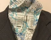 Four Fold Stock Tie, Foxhunting Traditional Stock Tie, Horse Show Stock Tie, Spells and Charms with Deer Spirit