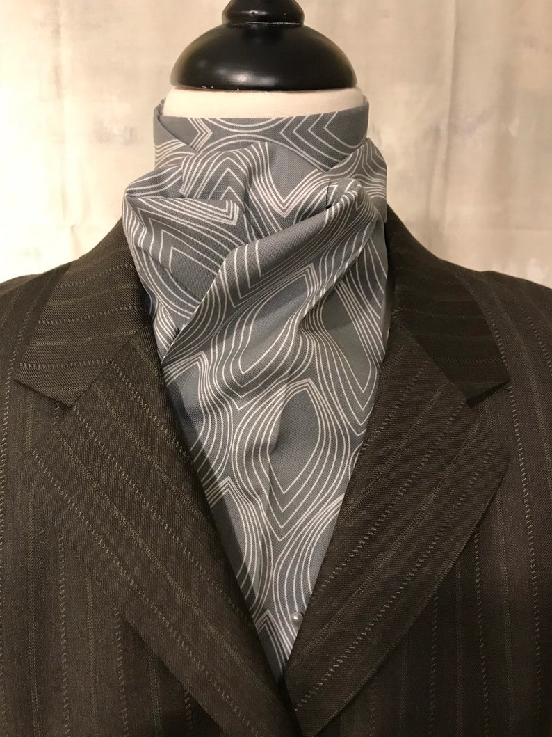 Four Fold Stock Tie Foxhunting Stock Tie Traditional Four image 0