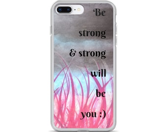 iPhone Case positive, fun quotes