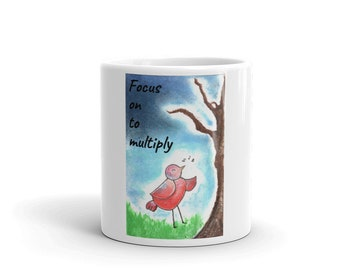 Coffee Mugs with Quotes & Art