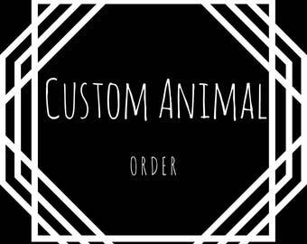 Custom Animal Art Print