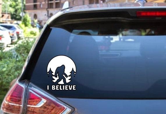 Window sticker Car RV Hunting Spiritual Outdoor Vinyl Decal Foot Steps Decal