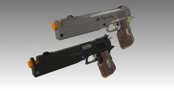 Devil May Cry Ebony and Ivory Inspired pistol - KITS