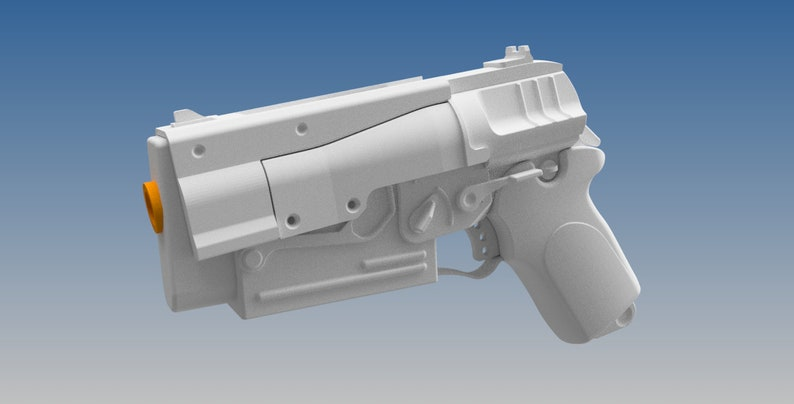 Fallout 4 10mm Pistol model Base (kit) With Mods, prop, cosplay,  collection, replica