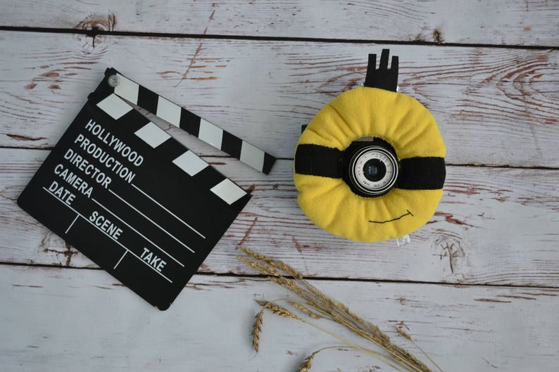 Minion Camera Case : Minion lens buddy. minion toy. camera lens buddy. photographer etsy