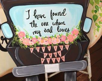 Wedding truck