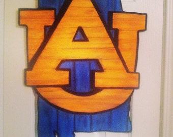 Auburn state door hanger