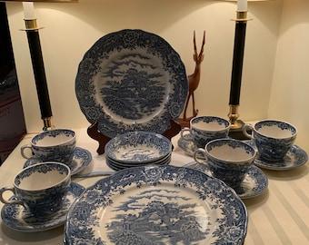 Salem China English Village DESSERT BOWL SET of TWO 2 have more items to set