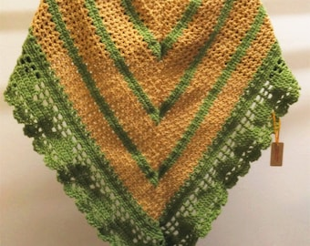 Crochet Julia Shawl/ Crochet Wrap