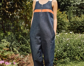 fe4e4f03ea6a organic cotton denim jumpsuit