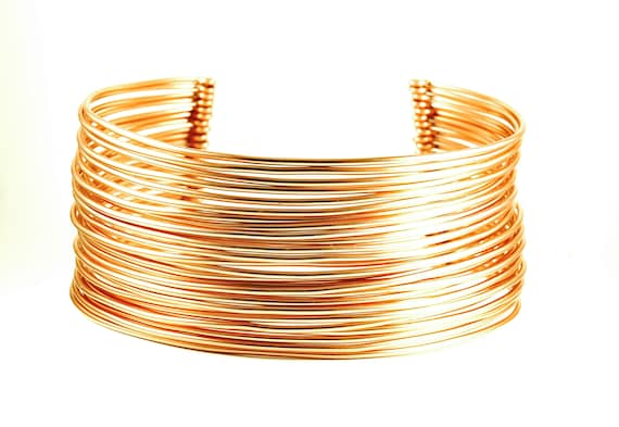 Tribal Markings Torque Choker Necklace African Wide Gold Nigerian Engraved African Jewelry