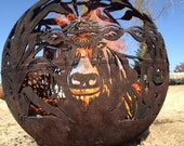 FARM FIREBALL Fire Pit - Fireball Firepits are individually handcrafted steel sphere fire pits hand cut with precision and meticulous attent