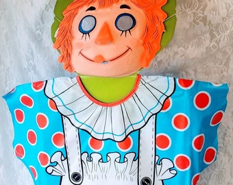 Creepy 1979 Ben Cooper Raggedy Ann Costume for Halloween ~ Original Packaging ~ Sizes 2-3T Tiny Tot Toddler