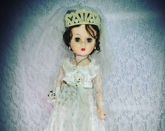 """No Reserves Cheri Haunted Doll ~ BIG 21"""" Vinyl Stuffed Grocery Store Bride Doll ~ Paranormal ~ Tormented Soul ~ Desperate for a Life"""