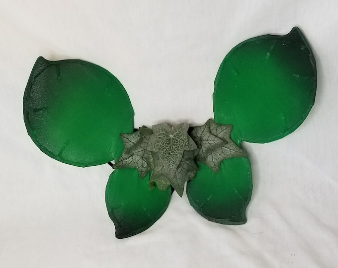 Toddler or Large Doll Sized Green Tinkerbell Fairy Angel Wings ~ Halloween Costume ~ To Wear or Display ~ As-Is