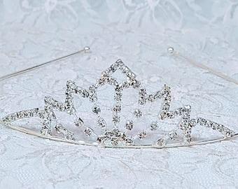 Lotus Flower Tiara Headband ~ Pageant Headdress ~ Fae Crown - 16th Birthday - Prom Tiara ~ Halloween ~ Wedding ~ Ren Faire ~ LARP ~ Fairy