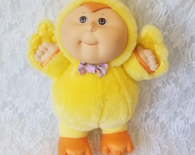 "Cabbage Patch Kid 1992 Cabbage Patch Kids Babyland Chick 12"" Ashley Easter Excellent Condition"