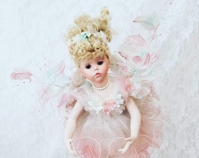 "OOAK Handmade Hilary Fairy Ballerina Doll by Dianna Effner ~ 18"" Ballerina ~ RARE Unique Costume ~ Amazing Detail ~ Rare Doll"