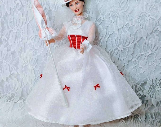 Vintage 1999 Jolly Holiday Edition Walt Disneys Mary Poppins Doll ~ Collectible Disney