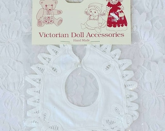 "Cute Lace Victorian Doll Collar ~ Fits on 14-18"" Composition or Baby Dolls ~ In Original Packaging"