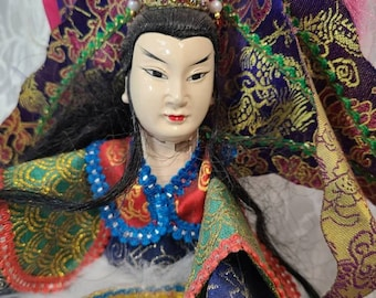 """No Reserves Akiba Haunted Doll ~ 16"""" Japanese Male Puppet ~ Paranormal ~ Yokai ~ Tengu Oni ~ Demon/Goblin ~ Mind Control ~ EXPERIENCE ONLY"""