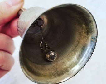 Antique Silver Plain Witches Bell ~ Vintage Bell ~ Wicca ~ Pagan ~ Chime Bell ~ Altar Supplies ~ Magick