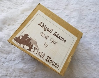 Porcelain Doll Making Kit ~ Yield House ~ Abigail Adams ~ Do It Yourself ~ Comes with Pattern, Limbs and Head ONLY