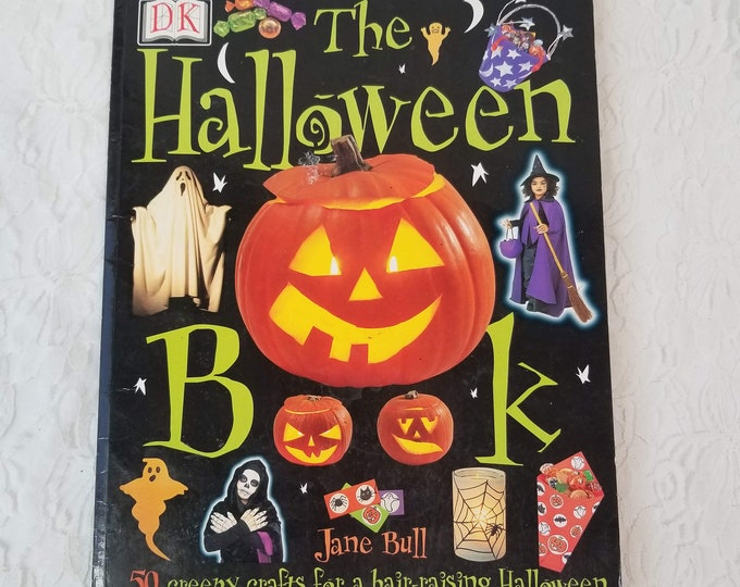 The Halloween Book by Jane Bull ~ DK Dorling Kindersley ~ Fall Crafts ~ Halloween Ideas ~ Fun Stuff for Kids