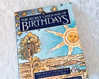 The Secret Language of Birthdays ~ Gary Goldschneider ~ Book ~ Awesome Condition!!