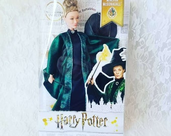 Harry Potter Minerva Mcgonagall Doll ~ Brand New in Package ~ NRFB ~ Never Opened