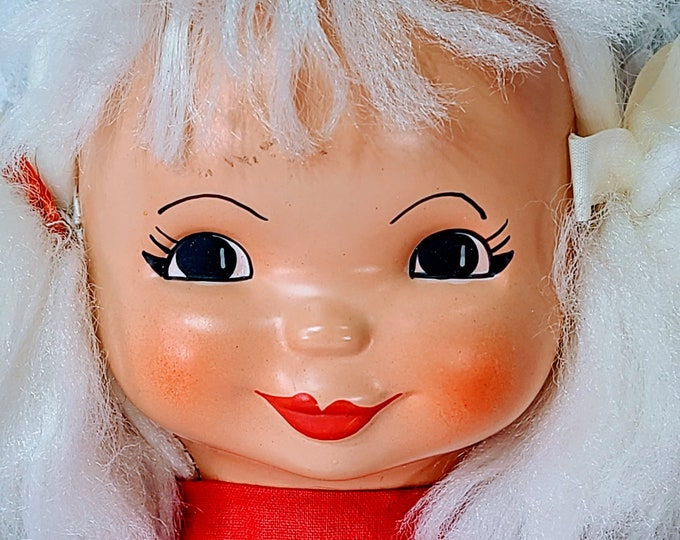 """No Reserves Desha Haunted Doll ~ Strange Cloth 1970s Doll 16"""" ~ Paranormal ~ Hardcore Party ~ Mind Games ~ WOW"""