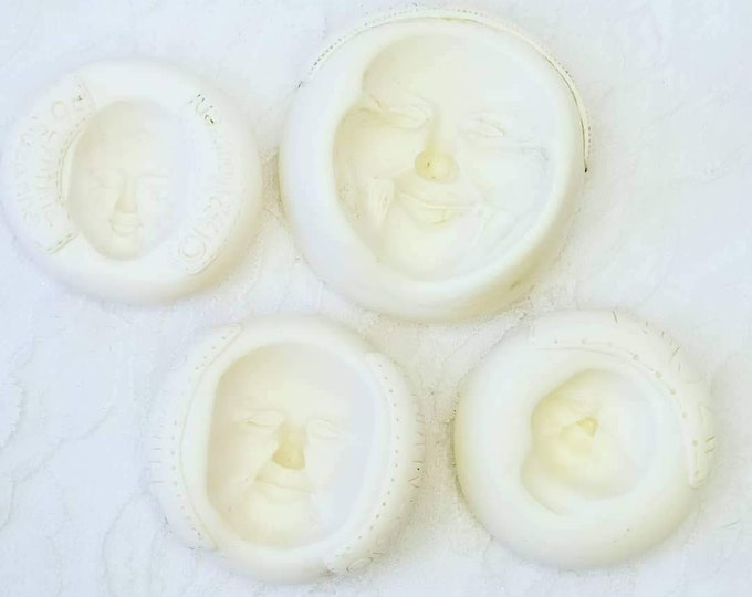 Destash ~ Maureen Carlson Face Molds ~ Choose the Face! For use in Making Polymer Clay, Paper Clay or Air Dry Clay