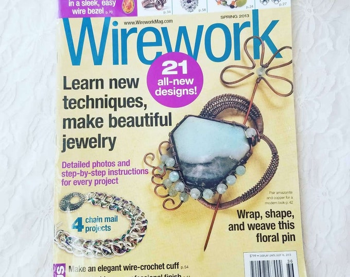 Wire Work 21 All New Designs ~ Learn New Techniques ~ Learn Jewelry Making ~ Detailed Instructions