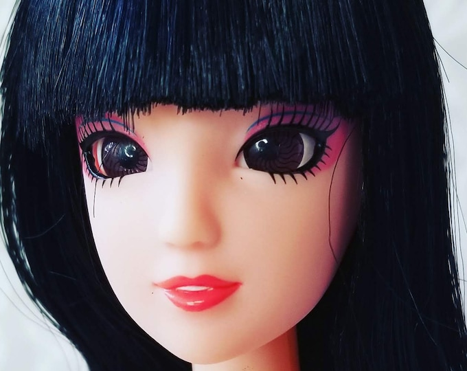 "Ball Jointed Anime Style Plastic Barbie-Sized 12"" Doll ~ Perfect Drawing Model ~ You Dress Her ~ Please Read Description"