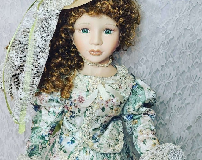 """No Reserves Calida Haunted Doll ~ 24"""" Victorian ~ Paranormal ~ She's Been Wronged in the Past ~ Scorpio ~ Bad Influence Emotionally"""