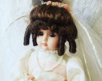 """NO RESERVES Bessie Haunted Doll ~ 20"""" Jumeau Face French Reproduction MUSICAL Doll ~ Paranormal ~ Good & Bad Experiences ~ Prim and Picky"""
