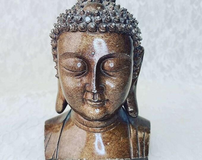 Beautiful Buddha Statue ~ Amulet ~ Chinese Talisman ~ Altar Piece ~ Goddess Guanyin Goddess of Mercy ~ Buddhist Bodhisattva of Compassion