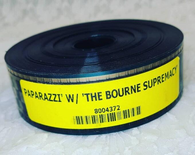 Collectible Movie Memorabilia ~ Paparazzi and The Bourne Supremacy ~ 35mm Movie Theater Film Trailer