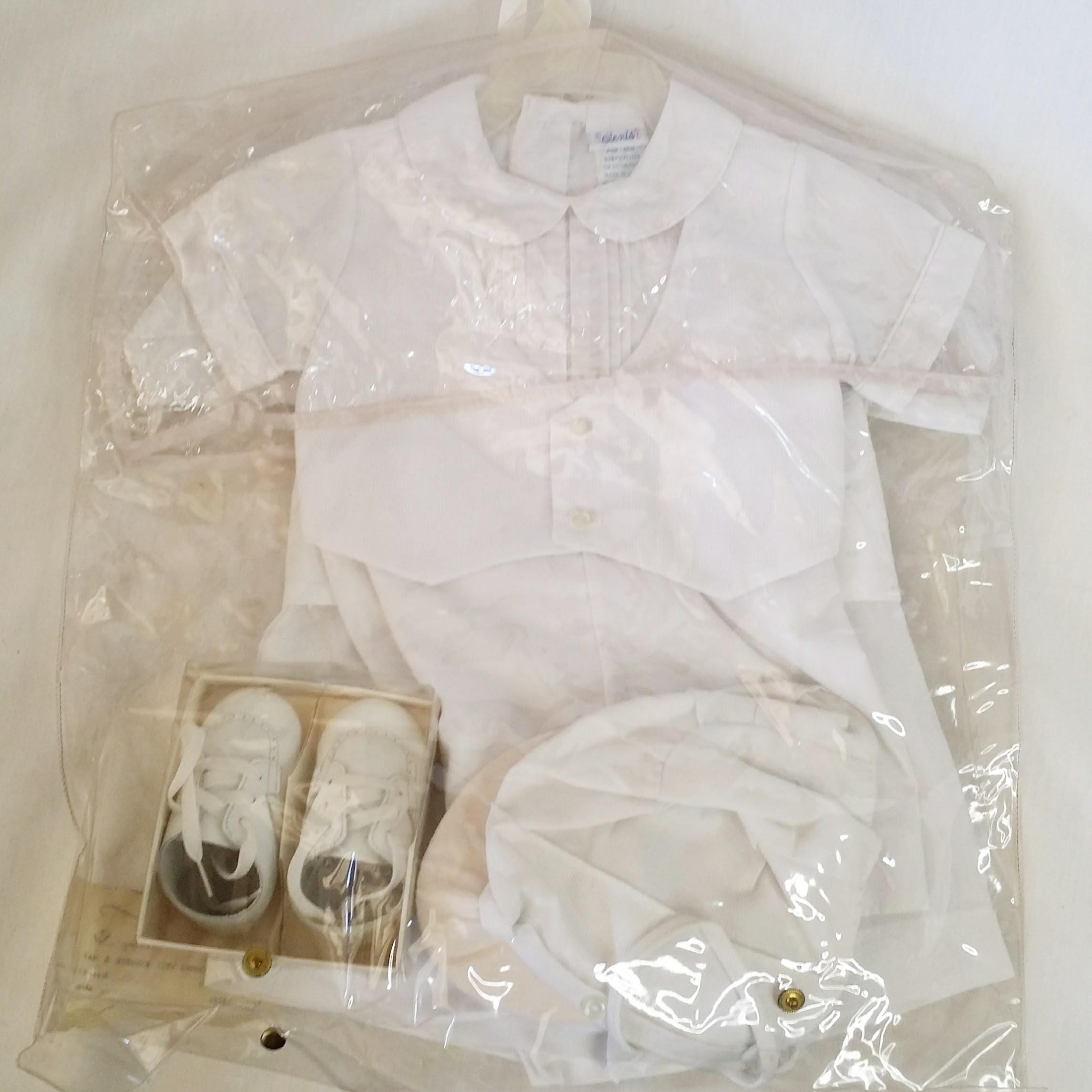 Vintage Baby Boy 6-12 Month Complete Dual Formal ...