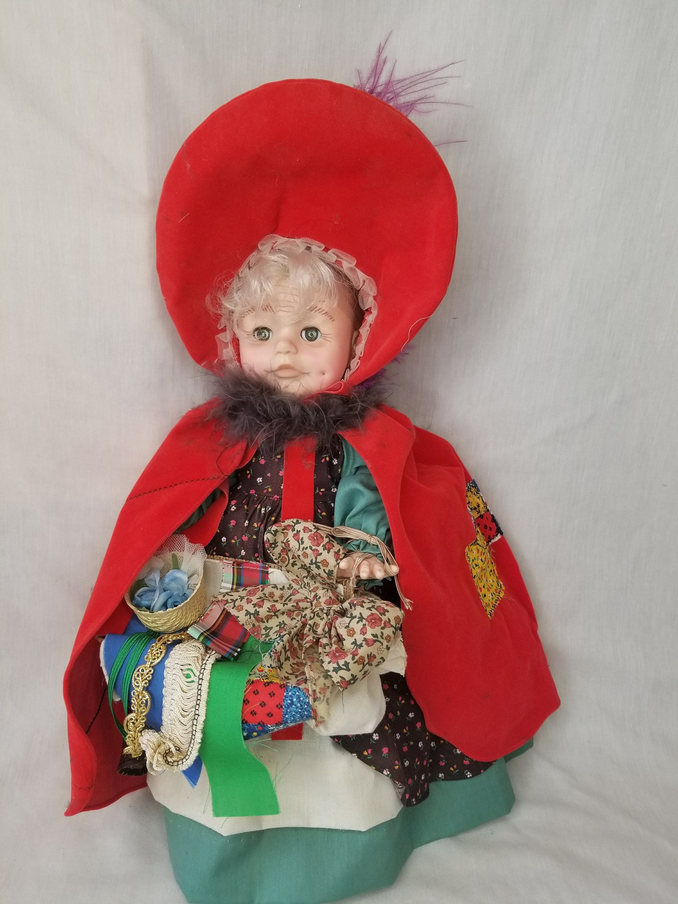 Reserved MARY 5/26 Victoria Haunted Doll ~ Effanbee Vinyl 18