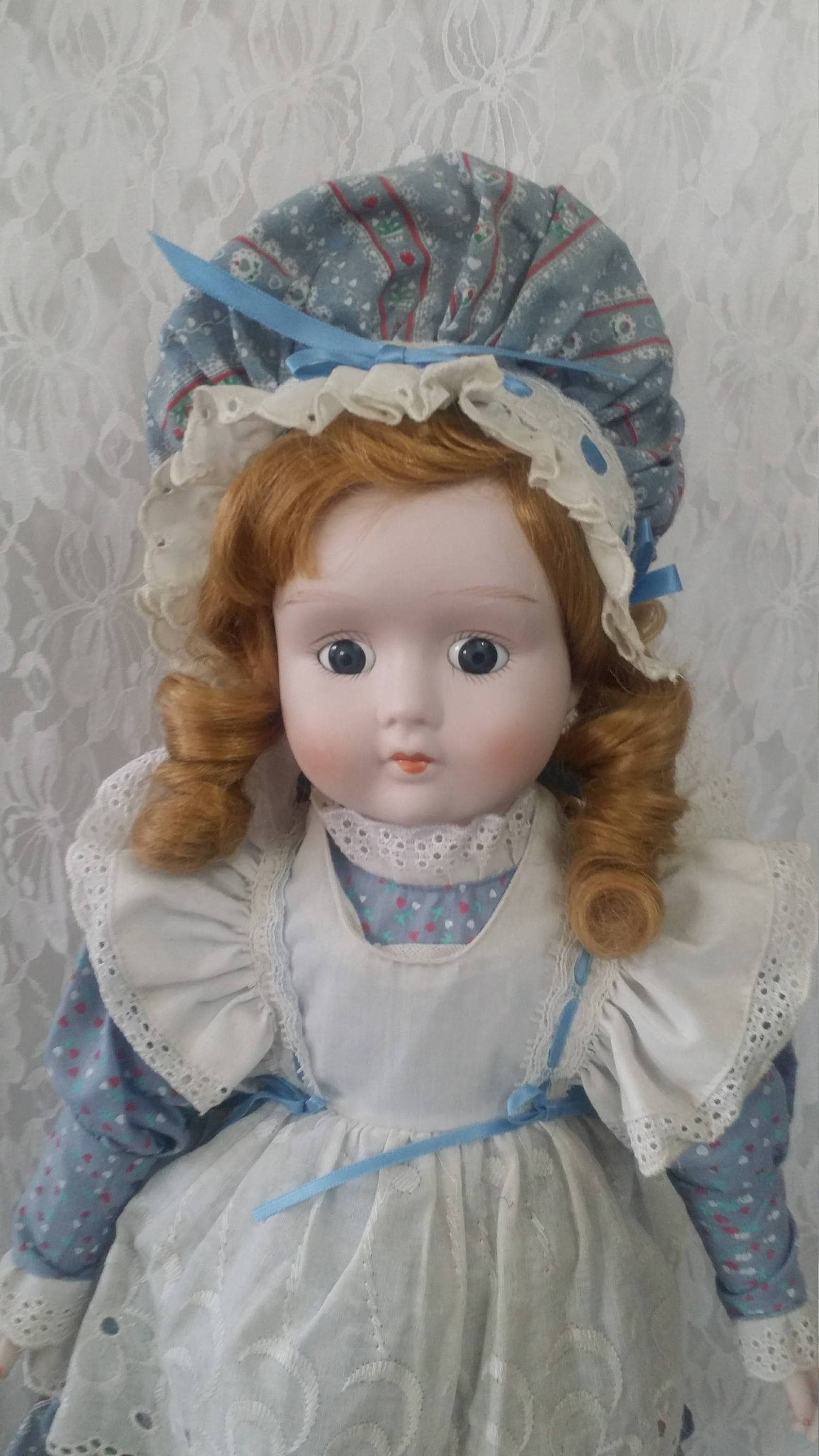 Iseppa 20 Inch Haunted Porcelain Doll Paranormal Child Of Rome