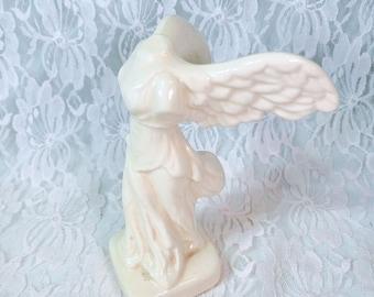 Vintage Goddess Nike Winged Victory Nike of Samothrace Woman Female Greek Roman Goddess Figurine Statue ~ Unsigned